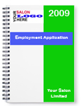 Salon Vacancy Application Pack